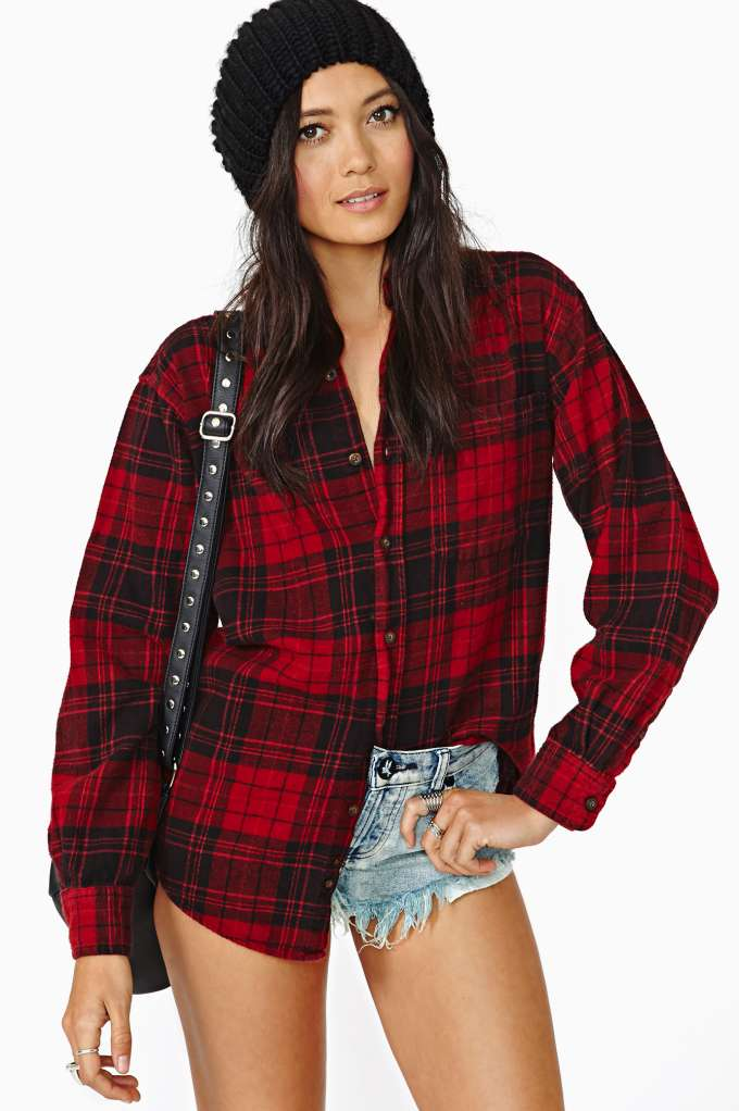 After Party Vintage Tried And True Flannel | Shop whats-new at Nasty Gal