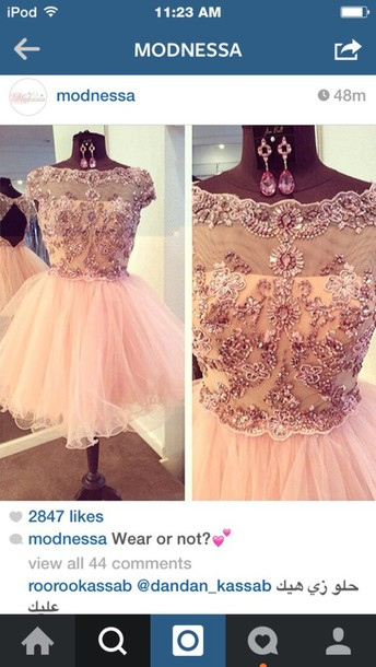 dress homecoming dress pink dress instagram instagram dress