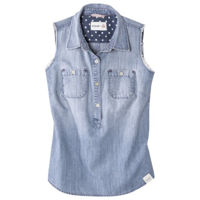 FEED for Target® Women's Sleeveless Chambray... : Target