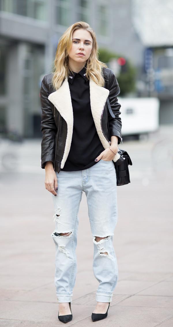 always judging jeans t-shirt jacket shoes bag jewels