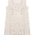 ROMWE | Sleeveless Hollow Lace Apricot Tank Dress, The Latest Street Fashion