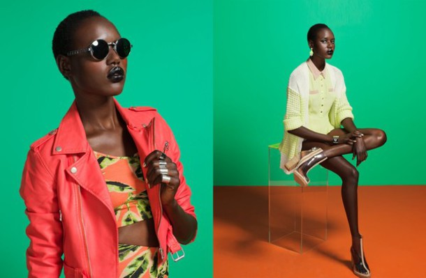 jacket nastygal nastygal nastygal.com shopnastygal.com coral lime floral print printed crop top crop tops crop tank printed crop tank biker jacket coral moto jacket cardigan clear boots boots lookbook summer tank top sweater shoes skirt sunglasses jewels