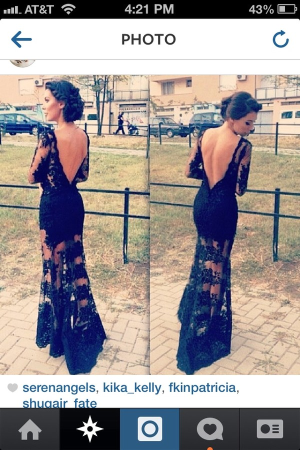 dress black lace dress lace prom dress maxi dress fancy dress black prom dress coat black lace dress