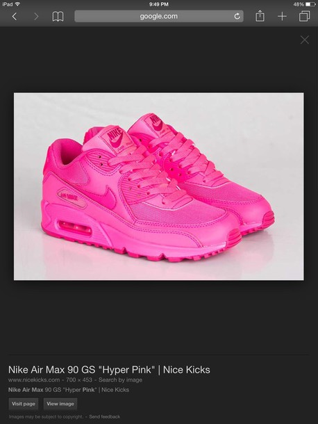 shoes nike air hot pink