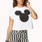 Mickey mouse cropped tee | forever21 - 2000050206