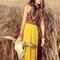 New women floral sleeveless boho evening party prom long maxi sundress dress