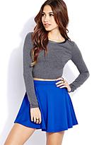 Favorite Skater Skirt | FOREVER21 - 2000129377