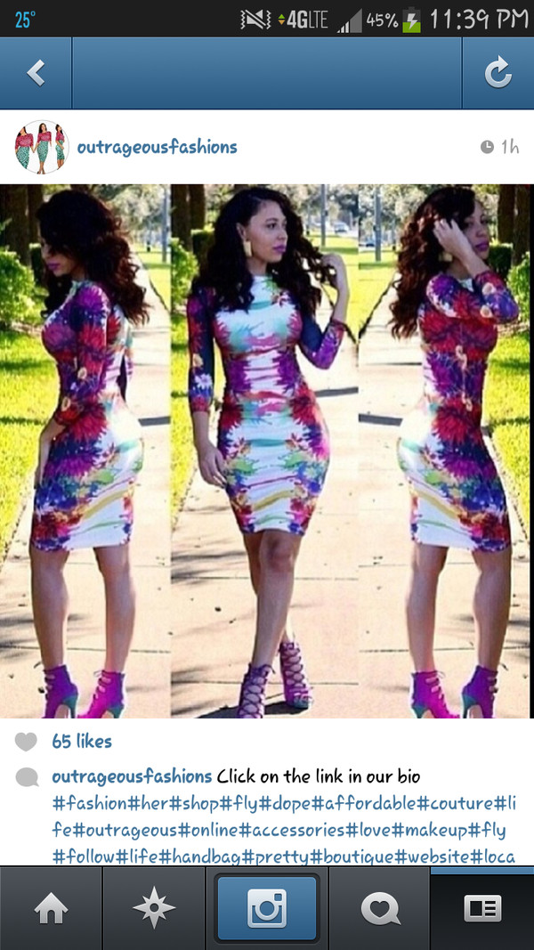 dress outrageousfashions instagram