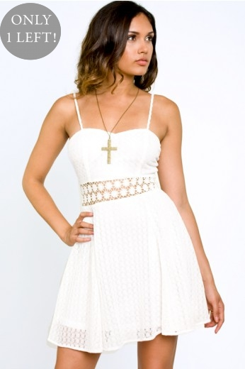 Cast Your Spell Lace Dress- $74