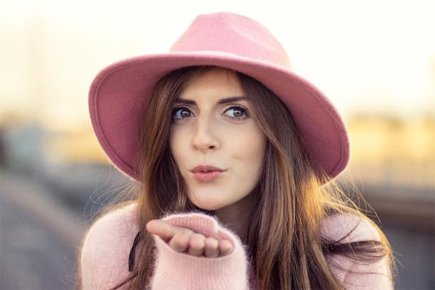 simple et chic blogger hat