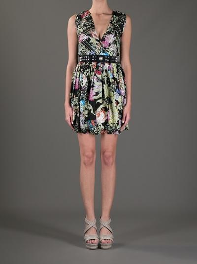Philipp Plein Belted Sleeveless Dress - Eraldo - Farfetch.com