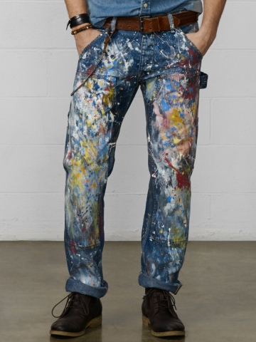 Straight-Fit Prospect Jean - Straight  Jeans - RalphLauren.com