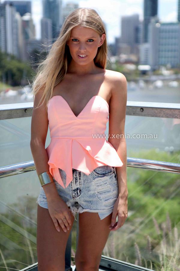 tank top xeniaboutique women's clothing ootd summer beach shorts top peplum top women's accessories