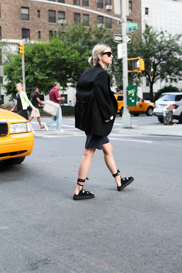 the fashion guitar shoes jacket sunglasses