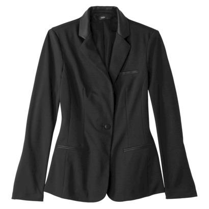 Mossimo® Women's Ponte Blazer - Black : Target