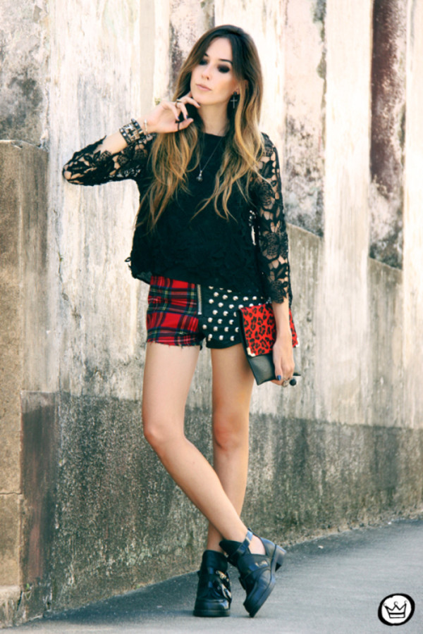 fashion coolture t-shirt shorts bag jewels shoes
