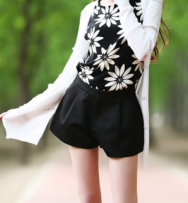 shorts top style streetstyle swag pretty summer outfits