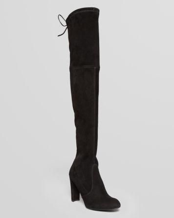 Stuart Weitzman Over The Knee Boots - Highland High Heel | Bloomingdale's