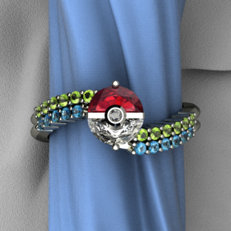 Trainer's band «  Art and Gems Jewelers