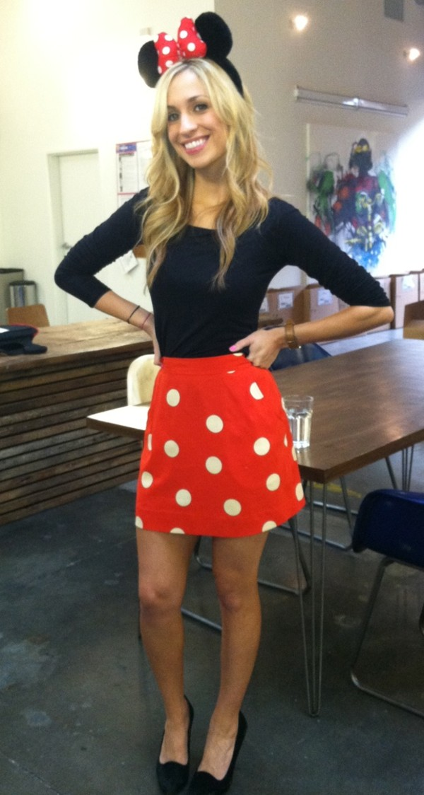 skirt costume minnie mouse outfit polka dots