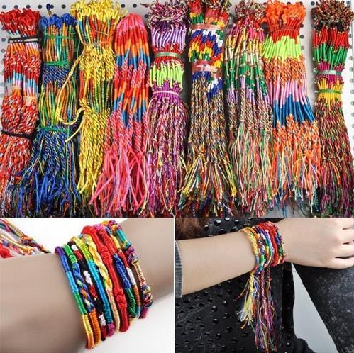 Latest Design Mix Lots Braid Friendship Cords Strands Bracelets Bulk 36PCS/lot  leather bracelet Free Shipping-in Wrap Bracelets from Jewelry on Aliexpress.com