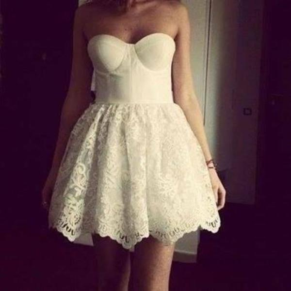 dress prom dress dress lace short dress wedding dress