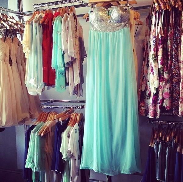 dress green dress long dress sequin dress