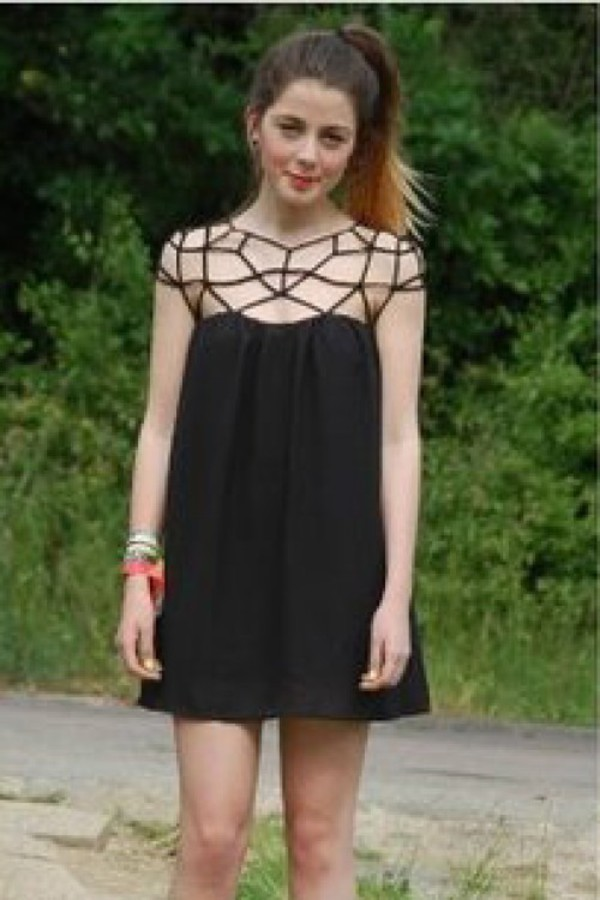 kcloth cut out back dresses black dress party dress black dress