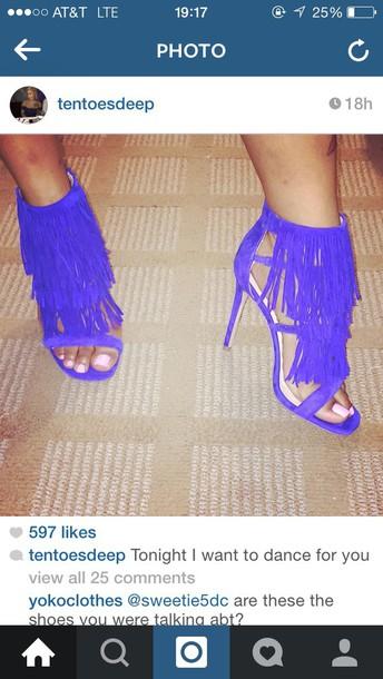 shoes fringe heels fringe shoes