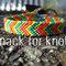 Custom 5 colour chevron friendship bracelet