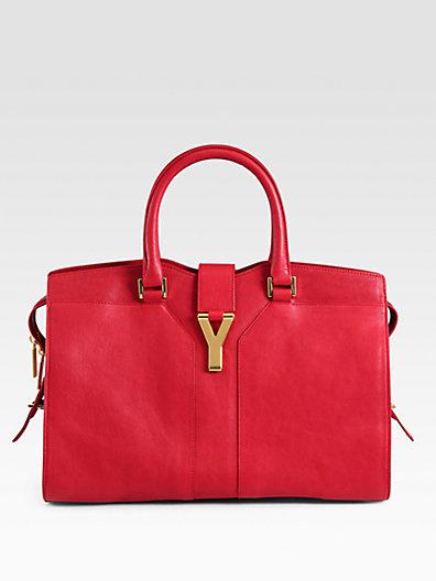 Saint Laurent - Saint Laurent Y Line Classique Top Handle Bag - Saks.com