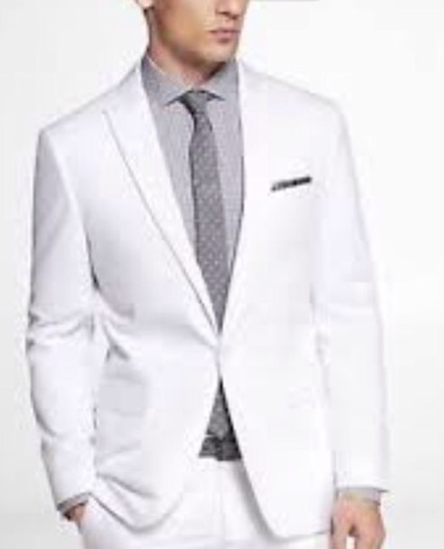 jacket suit menswear mens suit prom white formal prom menswear
