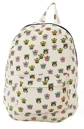 O-Mighty Backpack Furby in White -  Karmaloop.com