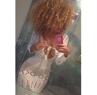 cover up crochet white crochet white white dress white coverup crochet dress