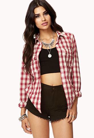 Darling Plaid Shirt | FOREVER21 - 2074476106