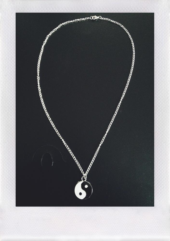 Yin Yang Necklace / Bone Machine