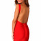 """lady in red"" red backless low back bandage dress – glamzelle"