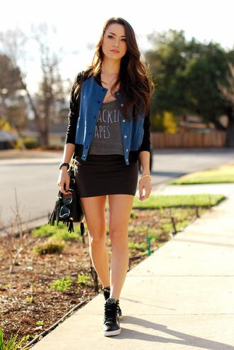 hapa time jacket t-shirt skirt bag jewels shoes