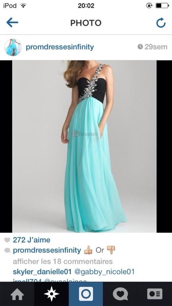 dress loveit needit sparkle prom dress turquoise