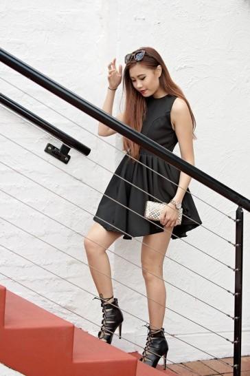 Fairy Floss Dress in Black