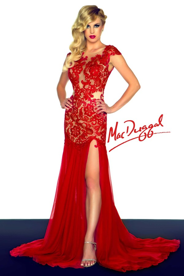 dress mac duggal