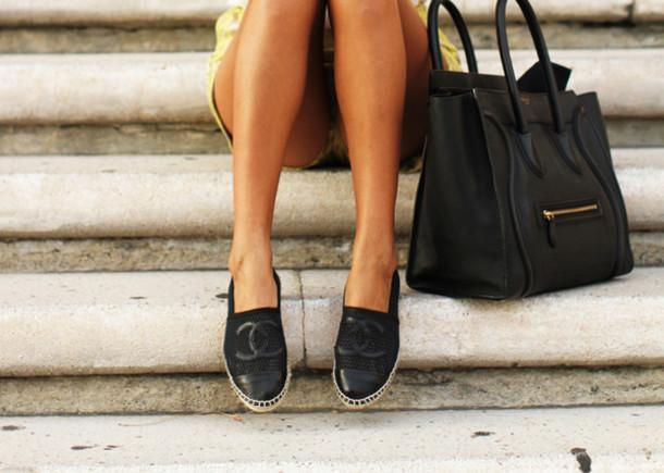 shoes chanel chanel espadrilles