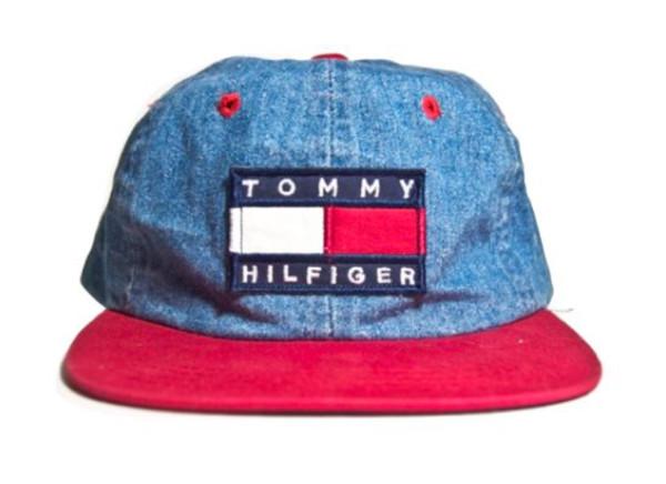 hat tommy hilfiger denim tommy hilfiger rare vintage old cop tommy hilfiger tommy hilfiger blue mens cap