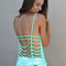 Cage tank in mint | new age queen | edgy women's tops, skirts, shorts, dresses, accessories, and more