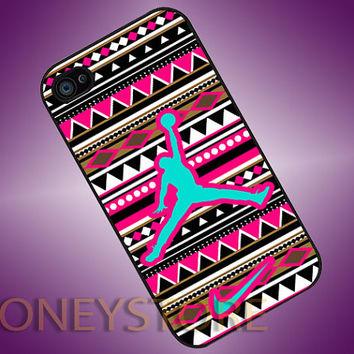 Jordan Air Nike Logo Aztec - Photo Print for iPhone 4/4s, iPhone 5/5C, Samsung S3 i9300, Samsung S4 i9500 Hard Case on Wanelo