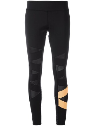 leggings sheer women spandex black pants
