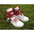 High Top White Red Men Supra Tk Society Shoes