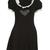 Buy this Vivetta Rodolfo Black Pierrot Dress online at Fifi Wilson.