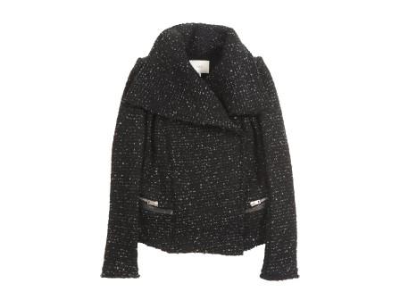 Lierane Jacket - Open jacket with shawl collar without closure - Black - Jackets - Women - IRO