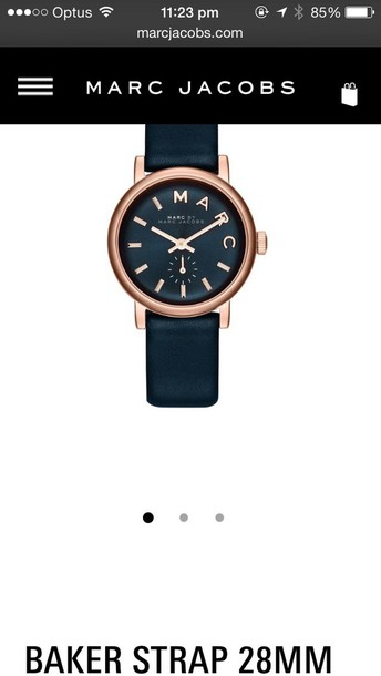 sweater watch marc jacobs watch marc by marc jacobs watch navy